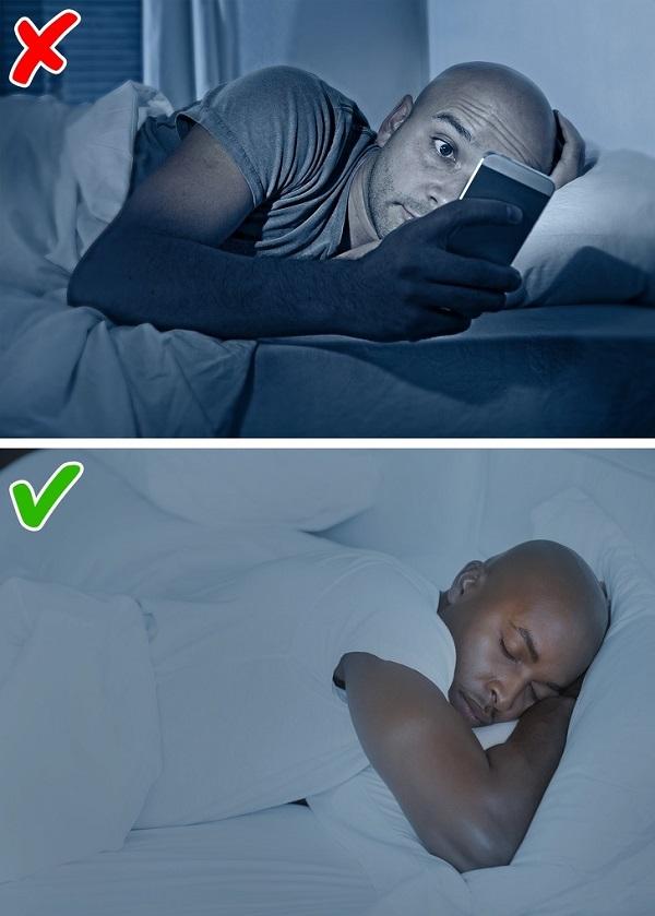 mẹo giảm cân trước khi ngủ