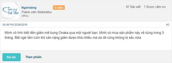 Review viên giảm mỡ bụng Onaka, Thuốc giảm mỡ bụng Onaka review, Viên uống giảm mỡ bụng Onaka webtretho, Viên uống giảm mỡ bụng Onaka review, Thuốc giảm mỡ bụng Onaka có tốt không, Viên uống giảm mỡ bụng Onaka có tốt không, Giảm mỡ bụng Onaka review, Thuốc giảm mỡ bụng của Nhật Onaka